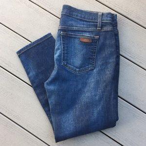 Joe's cropped jeans. Size 30